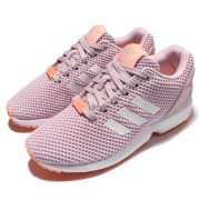 Adidas Originals ZX Flux  Pink White - Дамски Маратонки